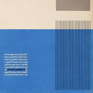 PREOCCUPATIONS, s/t cover