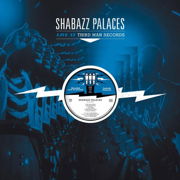 Cover SHABAZZ PALACES, third man live jan. 2015