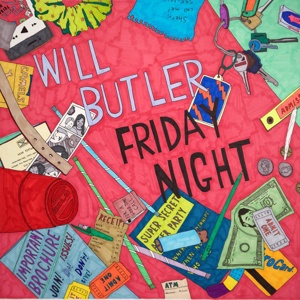 Cover WILL BUTLER, friday night