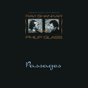 Cover RAVI SHANKAR & PHILIP GLASS, passages