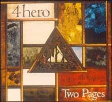 4 HERO, two pages cover