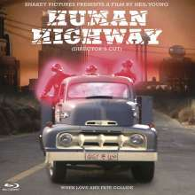 NEIL YOUNG, human highway (director´s cut) cover