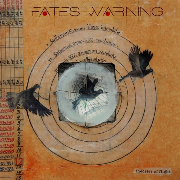 Cover FATES WARNING, theories of flight