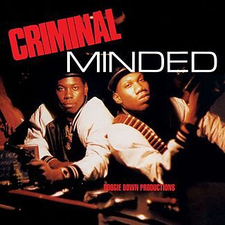 BOOGIE DOWN PRODUCTIONS, criminal minded cover