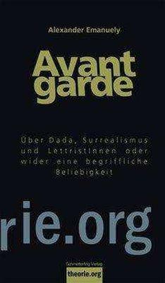 ALEXANDER EMANUELY, avantgarde cover