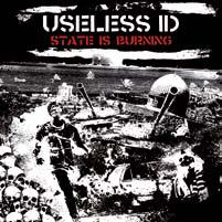 Cover USELESS ID, state is burning