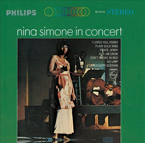 Cover NINA SIMONE, in concert