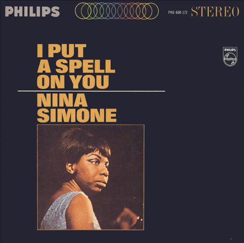 NINA SIMONE, i put a spell on you cover