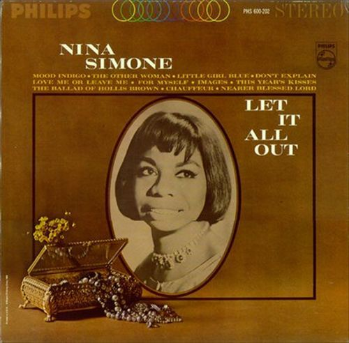 NINA SIMONE, let it all out cover