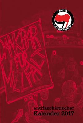 KALENDER, antifaschistischer taschenkalender 2017 cover