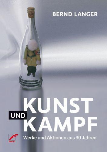 BERND LANGER, kunst und kampf cover