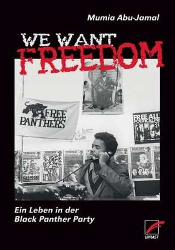 Cover MUMIA ABU-JAMAL, we want freedom