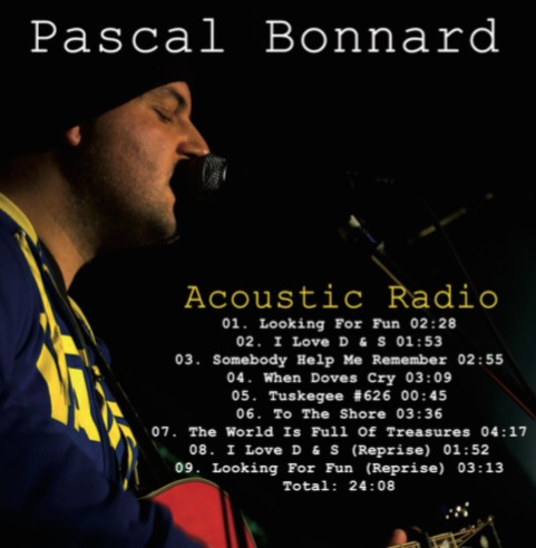Cover PASCAL BONNARD, acoustic radio
