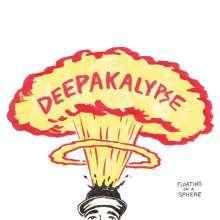 DEEPAKALYPSE, floating on a sphere cover