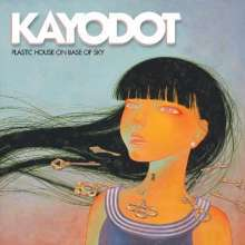 Cover KAYO DOT, plastic house on base of sky