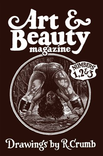 Cover ROBERT CRUMB, art & beauty magazine - numbers 1,2 & 3