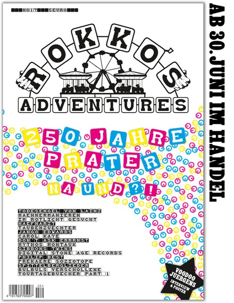 Cover ROKKO´S ADVENTURES, # 17