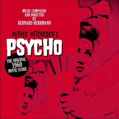 Cover O.S.T., alfred hitchcock´s psycho original
