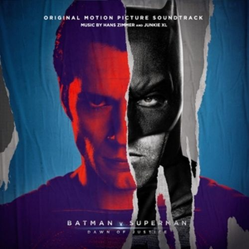 Cover O.S.T., batman v superman: dawn of justice (hans zimmer)