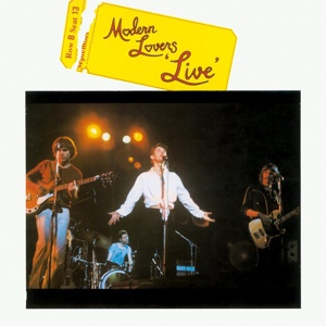 Cover MODERN LOVERS, live