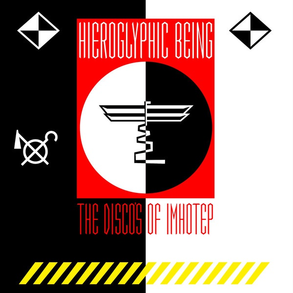 Cover HIEROGLYPHIC BEING, the disco of imhotep