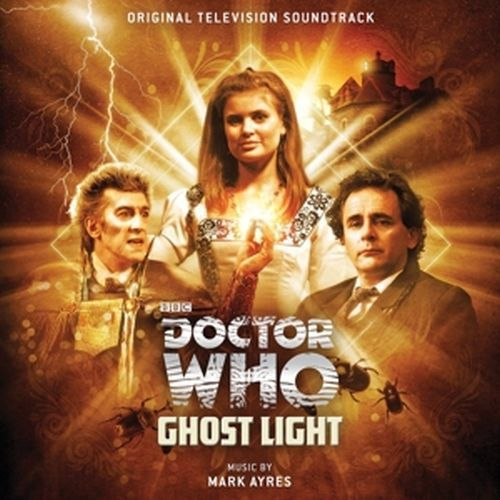 Cover O.S.T., doctor who - ghostlight (mark ayres)