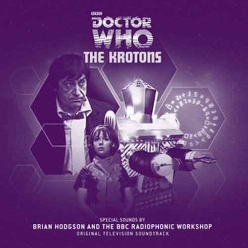 Cover O.S.T., doctor who - the krotons (brian hodgson)
