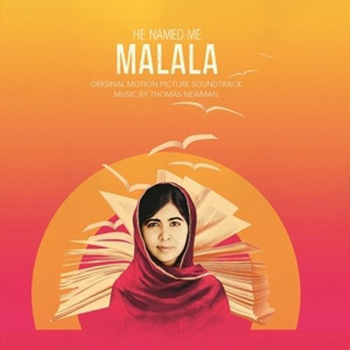 Cover O.S.T., he named me malala (thomas newman)