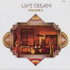 Cover CREAM, live cream vol.2
