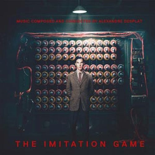 Cover O.S.T., the imitation game (alexandre desplat)