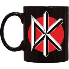 Cover DEAD KENNEDYS, logo_coffee mug black