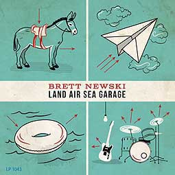 Cover BRETT NEWSKI, land air sea garage
