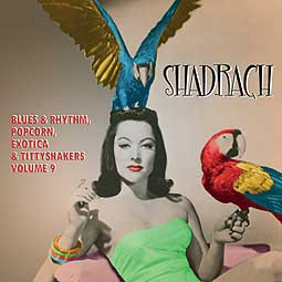 Cover V/A, shadrach - exotic blues & rhythm 9