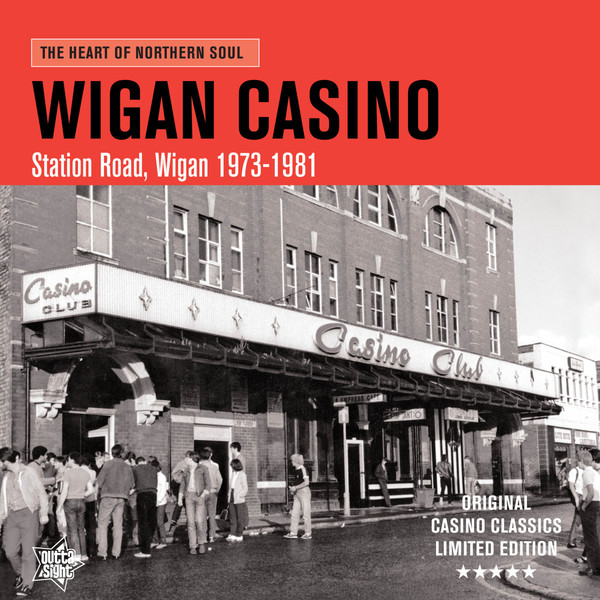Cover V/A, wigan casino - station road, wigan 1973-81