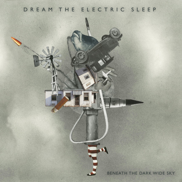 DREAM THE ELECTRIC SLEEP, beneath the dark wide sky cover