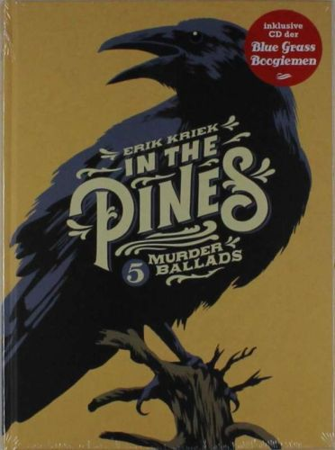 Cover ERIK KRIEK, in the pines