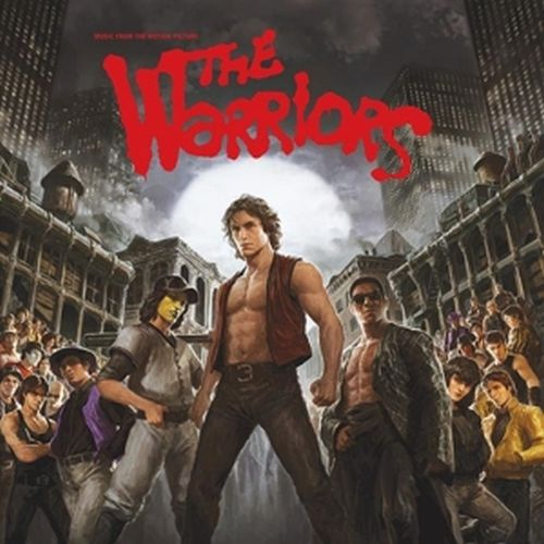 Cover O.S.T., the warriors