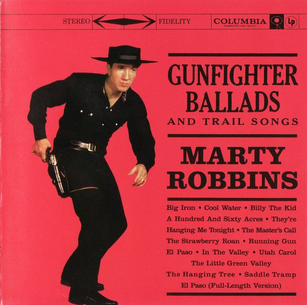 MARTY ROBBINS, gunfighter ballads and trail songs cover
