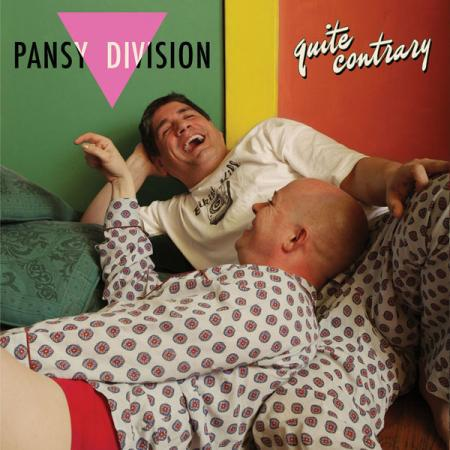 PANSY DIVISION, quite contrary cover