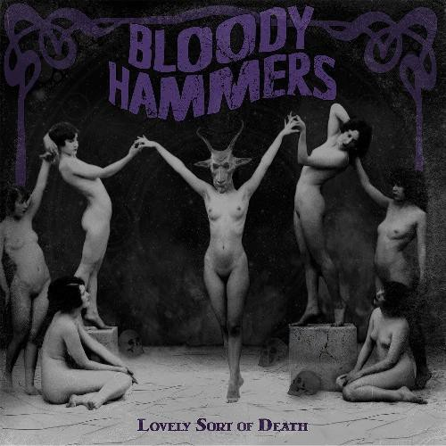 Cover BLOODY HAMMERS, lovely sort of death