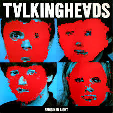 Cover TALKING HEADS, remain in light
