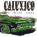 Cover CALEXICO, black light