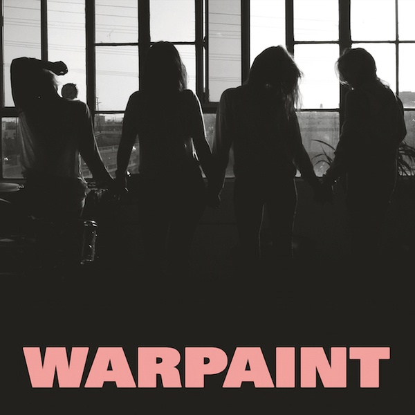 WARPAINT, heads up cover