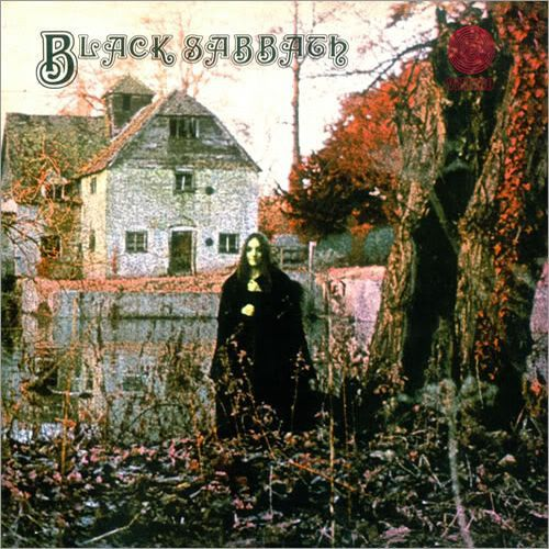 Cover BLACK SABBATH, s/t (red vinyl)
