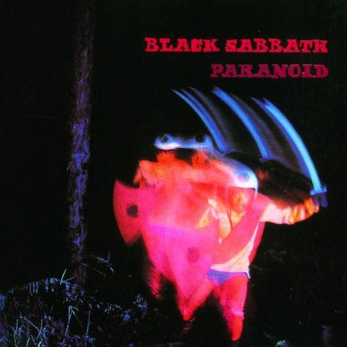 Cover BLACK SABBATH, paranoid (blue vinyl)
