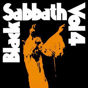 Cover BLACK SABBATH, vol. 4 (orange vinyl)