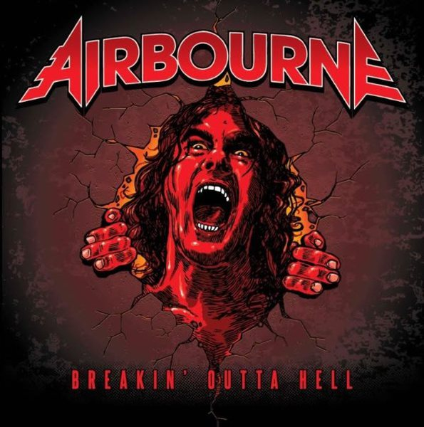 Cover AIRBOURNE, breakin´outta hell