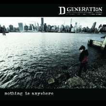Cover D GENERATION, nothing is anywhere