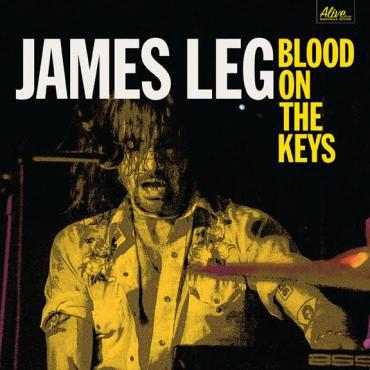 Cover JAMES LEG, blood on the keys
