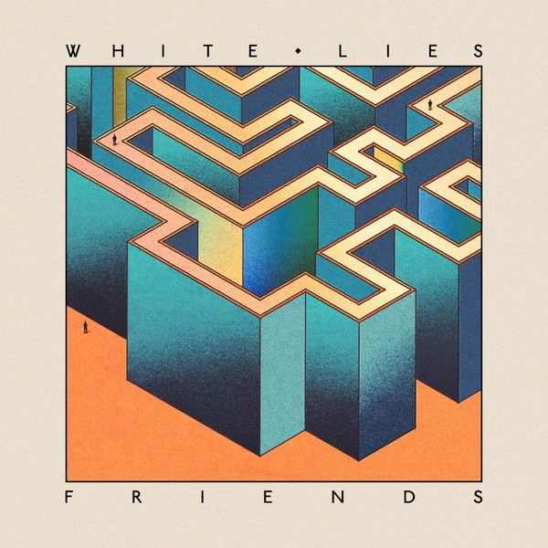 Cover WHITE LIES, friends